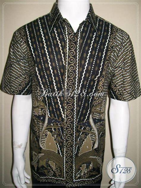 Kemeja Batik Mza03 Lengan Pendek Modern Halus Murah Grosir kemeja batik pria modern batik tulis jahitan bagus halus rapi ld323t l toko batik 2018