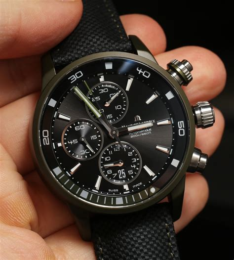 Washed Out Colors - maurice lacroix pontos s extreme watch in cool colors ablogtowatch