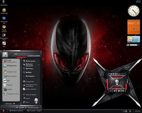 download themes for windows 7 free alienware alienware themes by 0nlinetj on deviantart