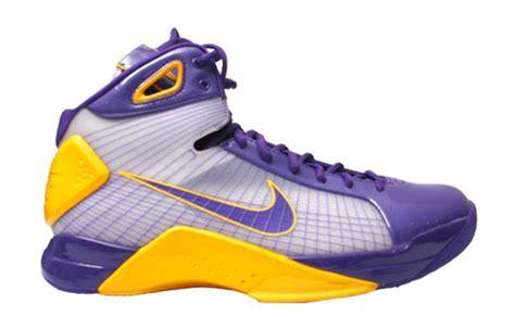 lakers house shoes nike air zoom hyperdunk kobe pe house of hoops nyc