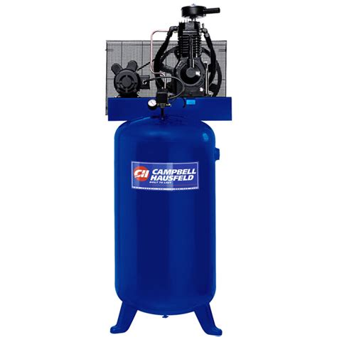 5hp 240v two stage air compressor 80 gal cbell hausfeld xp5810