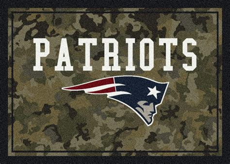 Patriots Area Rug Nfl Camo 3058 New Patriots Area Rug By Milliken Carpetmart