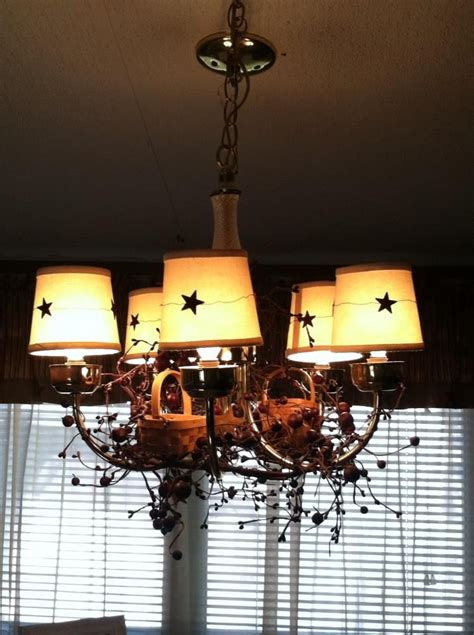 17 best images about primitive country chandelier on