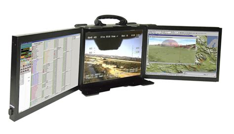 rugged computer monitor multi screen display for rugged portables rugged portable