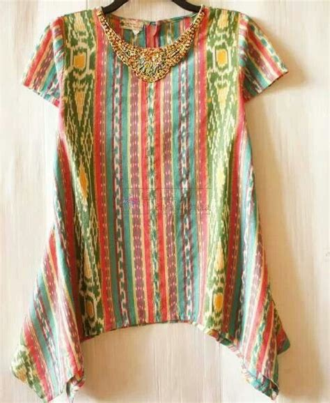 Vest Outer Batik 43 best images about batik tenun on vests kebaya and ruffle top