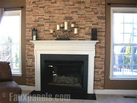fireplaces portfolio faux panels 174 photos and design ideas