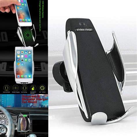 wireless kablosuz sarj arac ici telefon tutucu sensoerlue