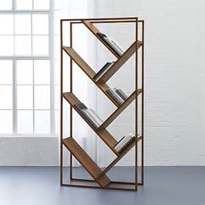 Room Divider Bookshelves V Bookcase Room Divider Cb2