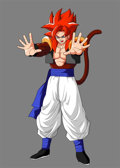 goku ss4 dragon ball z wallpapers gogeta super saiyan 4