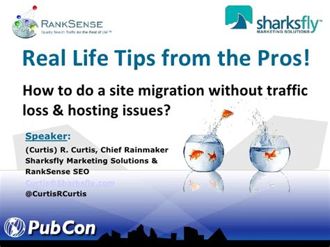 Tips From The Pros by Real Site Migration Tips From Pros