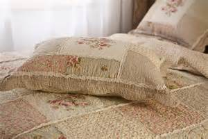 queen chic shabby patchwork quilted cotton bedspread quilt coverlet set u style ebay