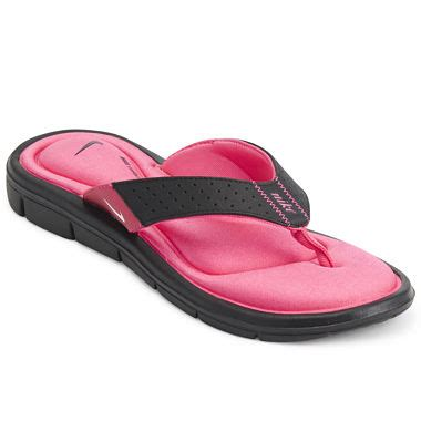 comfort thong sandals nike 174 womens comfort thong sandals jcpenney