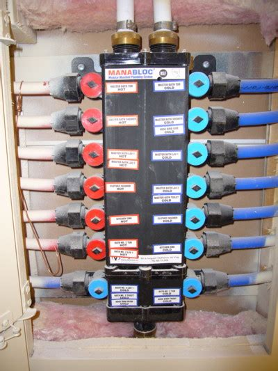 Pex Plumbing Supply by A Wise Home Inspector Plumbing Home Inspectors Water