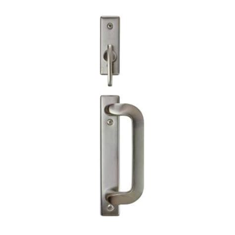andersen anvers 2 panel gliding patio door hardware set in
