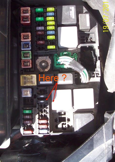ford mondeo mk3 fuse box wiring diagram