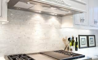 Mosaic Marble Backsplash - white kitchen mosaic backsplash ideas white marble backsplash tile water jet white marble
