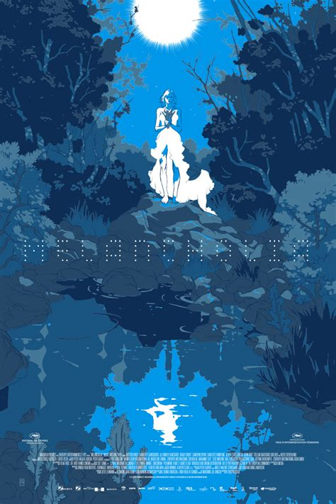 blue poster new mondo poster captures melancholia s blue mood wired