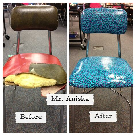 Duct Taped To Chair by Diy Duct Chair Teachers Dressing