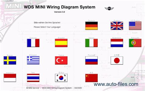 bmw mini wds wiring diagram system ver 7 0 repair