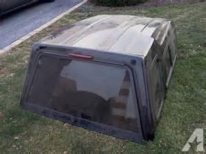 ford ranger ext cab truck bed cap 60 quot x73 quot black fiberglass