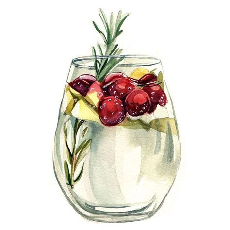 watercolor cocktail 1191 best images about drinks illustrations on pinterest