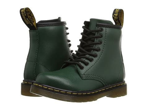 Dr Faris Leather Up Murah Pm 44 dr martens kid s collection turtles donnie toddler green leather kid s shoes price