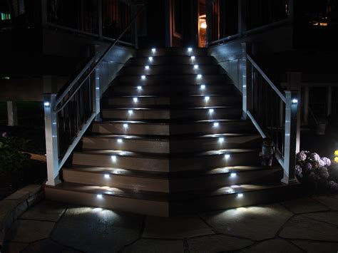 Outdoor Lighting Stairs Illuminating Interior Exterior Stairs I Lighting Llc