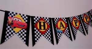 Cars Birthday Banner Template by Disney Cars Birthday Banner Cars Birthday Banner Mcqueen
