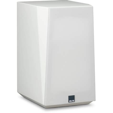 svs ultra 2 way bookshelf speakers ultra bookshelf white gloss