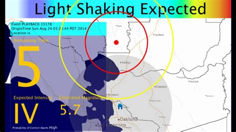 earthquake warning system california s earthquake early warning system is ready to