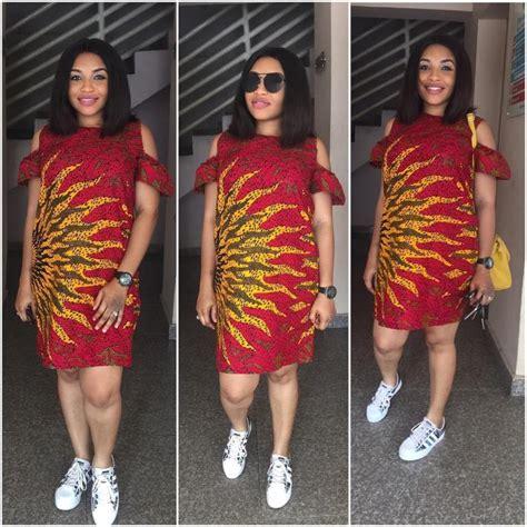 short gown image for daviva short ankara dresses playful and trendy jiji ng blog