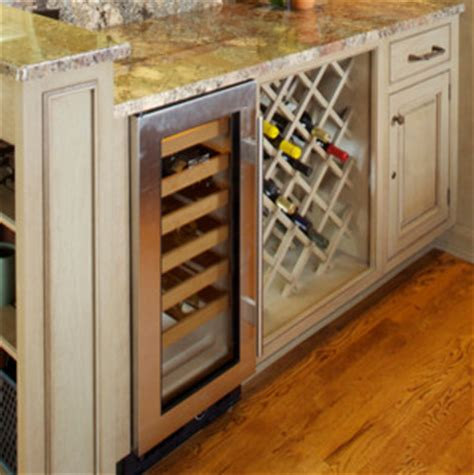 kitchen cabinet accessories traditional wine racks