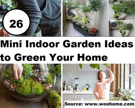 tips to make small indoor garden for home 4 home ideas 26 mini indoor garden ideas to green your home home and