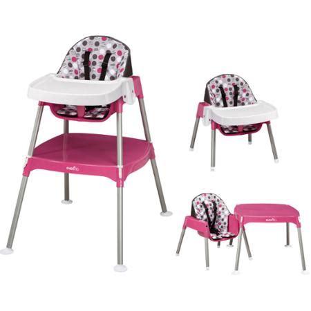 Evenflo Portable High Chair by Evenflo Convertible High Chair Dottie Walmart