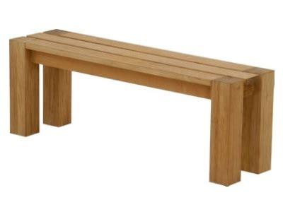 backless teak bench backless bench 4 atlanta teak furniture