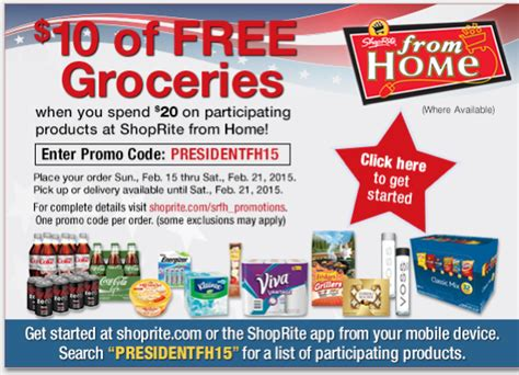 shoprite from home couponsliving rich with coupons 174