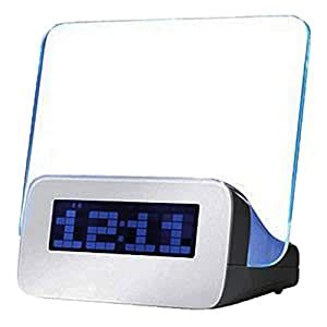 amazoncom  led message board  highlighter digital alarm clock   port usb hub home
