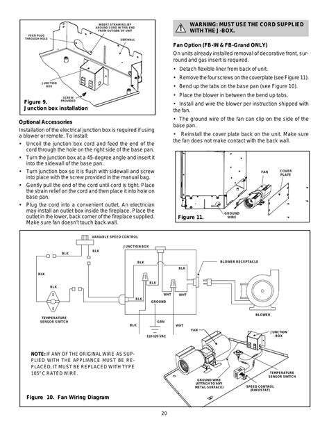 heat and glo fireplace fan heat n glo wiring diagram 25 wiring diagram images