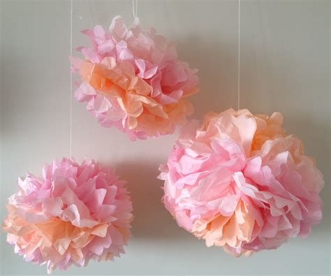 Flower Tissue Paper Craft - how to make tissue paper flowers craft tutorial s s