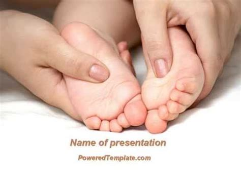 powerpoint templates free download newborn baby massage powerpoint template by poweredtemplate com