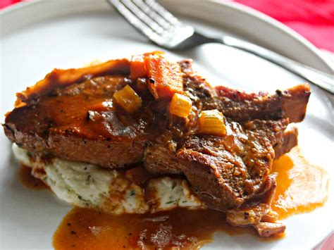what to make with country style pork ribs cider braised country style pork ribs with mashed