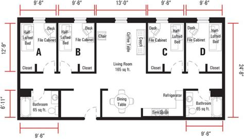 single bedroom dimensions graduate professional and non traditional housing