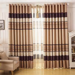 brown beige curtains affordable beige brown striped curtains blackout
