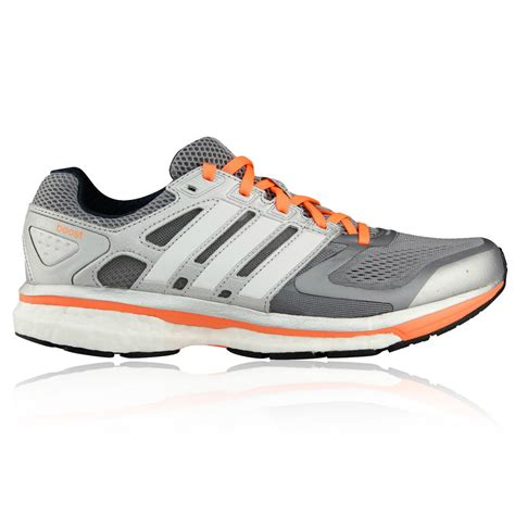 adidas road running shoes adidas supernova glide 6 womens silver sneakers road