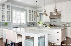 Kitchen White And Blue by 6 Ways To Dress A Kitchen Window Centsational