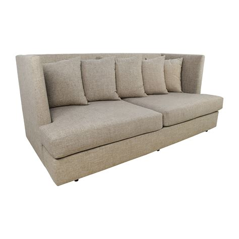 best crate and barrel sofa best crate and barrel sofa axis ii grey 2 seat