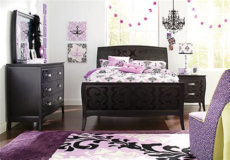 teen full bedroom sets belle noir dark merlot 5 pc full bedroom bedroom sets