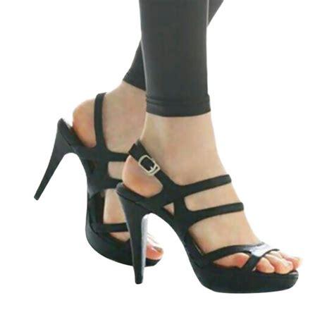 Sepatu Wanita High Heels Hitam 9 Cm Bustong Selop Kokop Sepatu Murah jual efata s22 sepatu high heels hitam harga