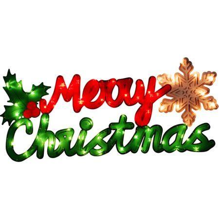 holidays lighted sign lighted merry sign walmart com