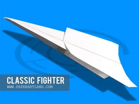 How To Make A Classic Paper Airplane - easy paper plane how to make a paper airplane that flies